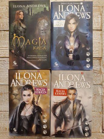 Seria z Kate Daniels 1-4.  Ilona Andrews