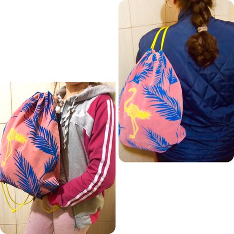 Удобная сумка для покупок и формы на секцию шкільний рюкзак школьный