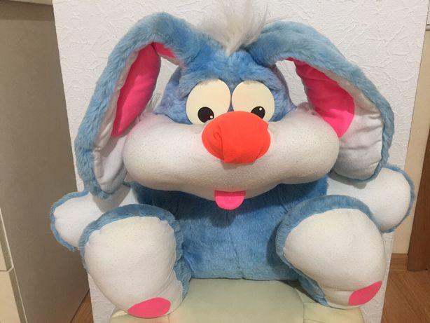 Мягкая игрушка заяц зайчик