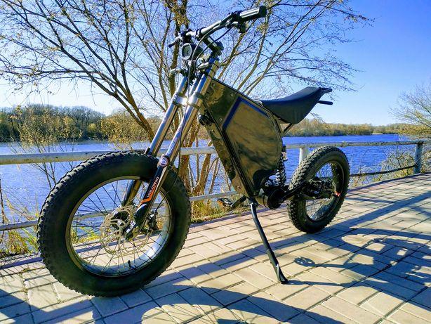 Электро байк електро байк под заказ сборка кастом велосипед mid drive