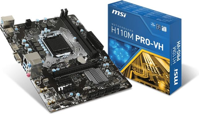 Płyta główna MSI h110m pro-vh