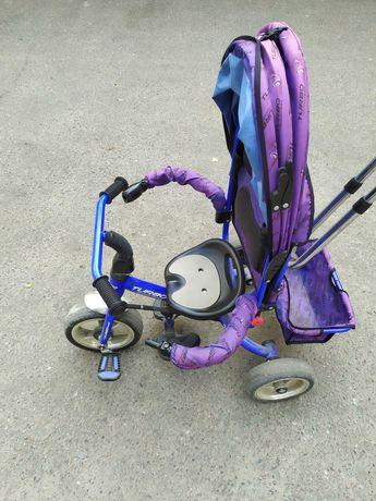Велосипед детский, трёхколёсный. Состояние б/у