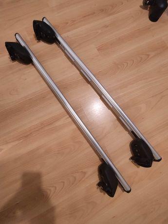Barras tejadilho Opel Zafira 01/2007– e Opel Astra 01/2007–11/2010