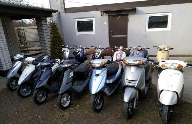 Японские скутера мопеды с контейнера Honda Yamaha