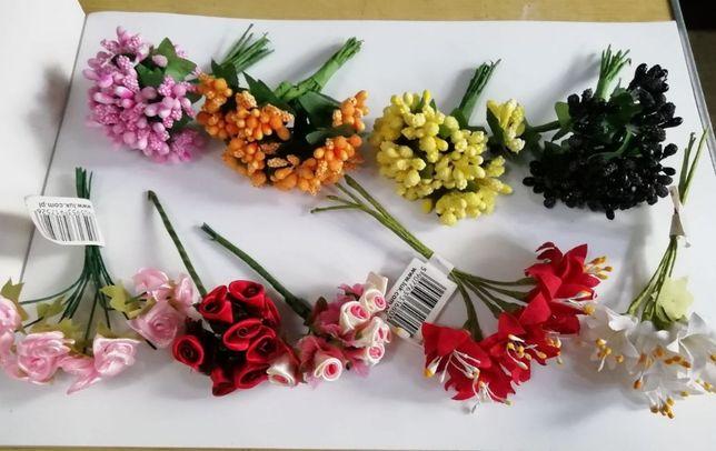 Декор для рукоделия и поделок пуговицы ленты цветы полубусины стразы