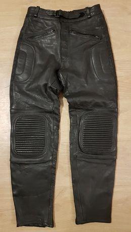 Spodnie skórzane na motor Bikers Paradise