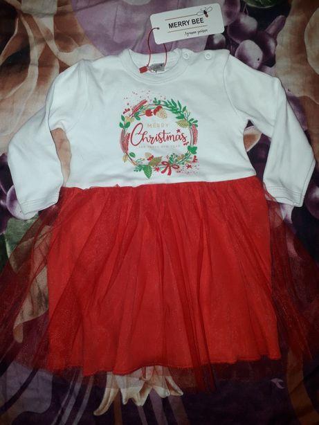 Платье на новый год, на девочку