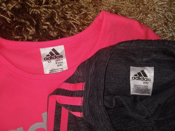 Спортивный костюм для девочки Adidas 6-7 л 116-122-128