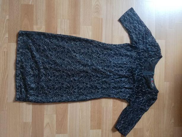 Koronkowa świecąca sukienka S/M