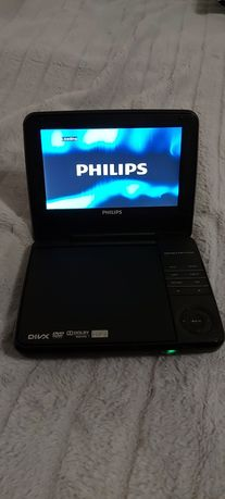 Przenośne DVD PHILIPS 7 cali MP3 AVI