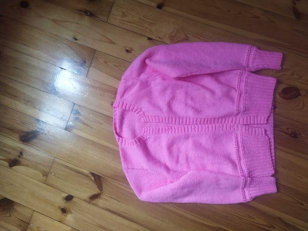 Sprzedam różowy sweterek- bolerko