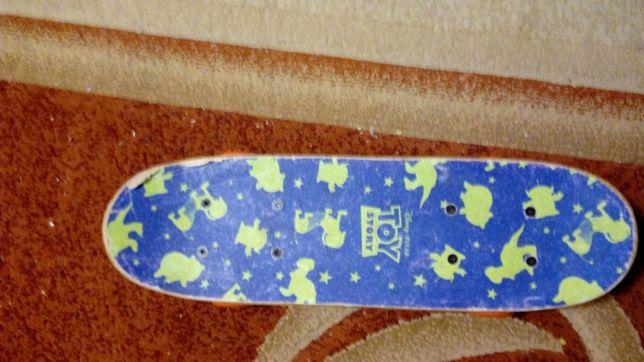 Скейт скейтборд детский деревянный Дисней Disney Pixar Toy Story