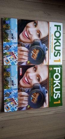 Fokus 1 podręcznik i ćwiczenia do niemieckiego