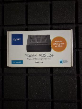 Модем ZyXel ADSL2+ (p660rt3 EE)