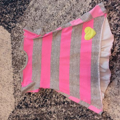 Bluzka -tunika roz 104