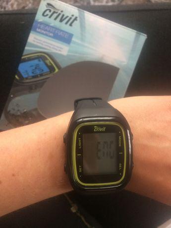 Zegarek Crivit liczący kroki z wieloma funkcjami Zegarek sportowy Nowy