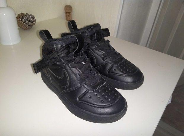 Кроссовки детские Nike, кожаные, 26 размер, 15 см, Стелька 17см