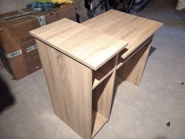 Biurko drewniane mało używane idealny stan