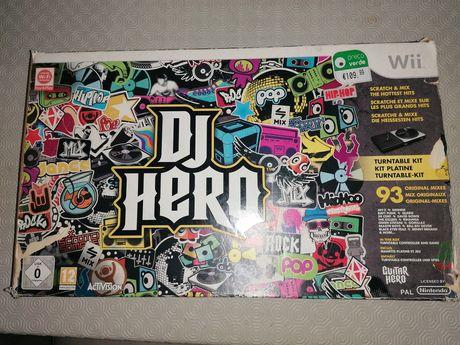 DJ HERO - Consola Nintendo Wii - ótimo estado
