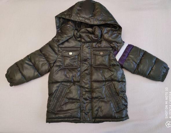 Новая куртка демисезонная на мальчика 3г. (98 см) фирмы Melbi i Coccol