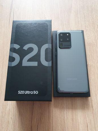 Samsung Galaxy S20 Ultra 5G 128Gb szary IGŁA na Gwaracji