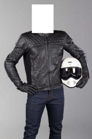 Nowa Course Boomer Kurtka motocyklowa cruiser skórzana M L cafe racer