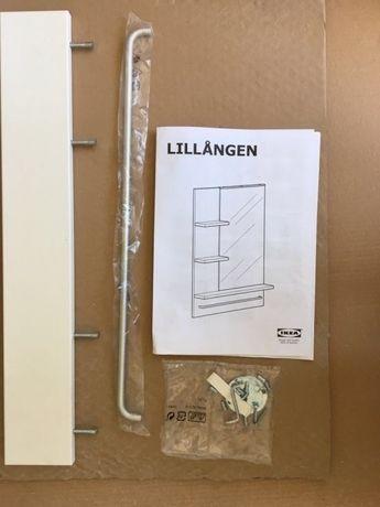 Półka i wieszak do lustra LILLANGEN IKEA
