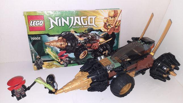 Lego Ninjago 70502 Земляной бур Коула Лего Ниндзяго