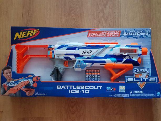 Бластер нерф Nerf N-Strike Elite BattleScout ICS-10. Оригинал
