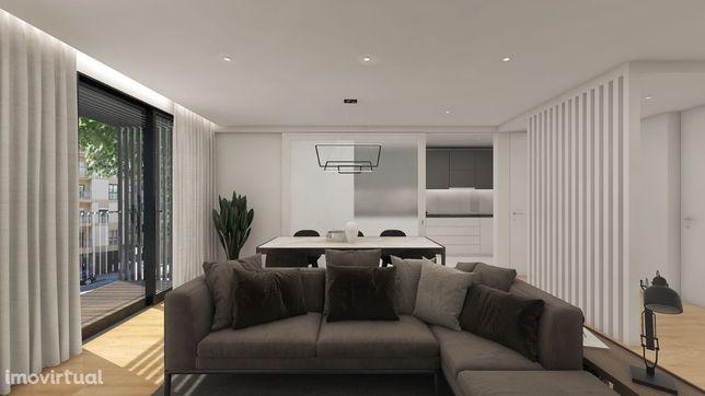 Apartamento T2 Centro de Matosinhos c/ lugar de garagem