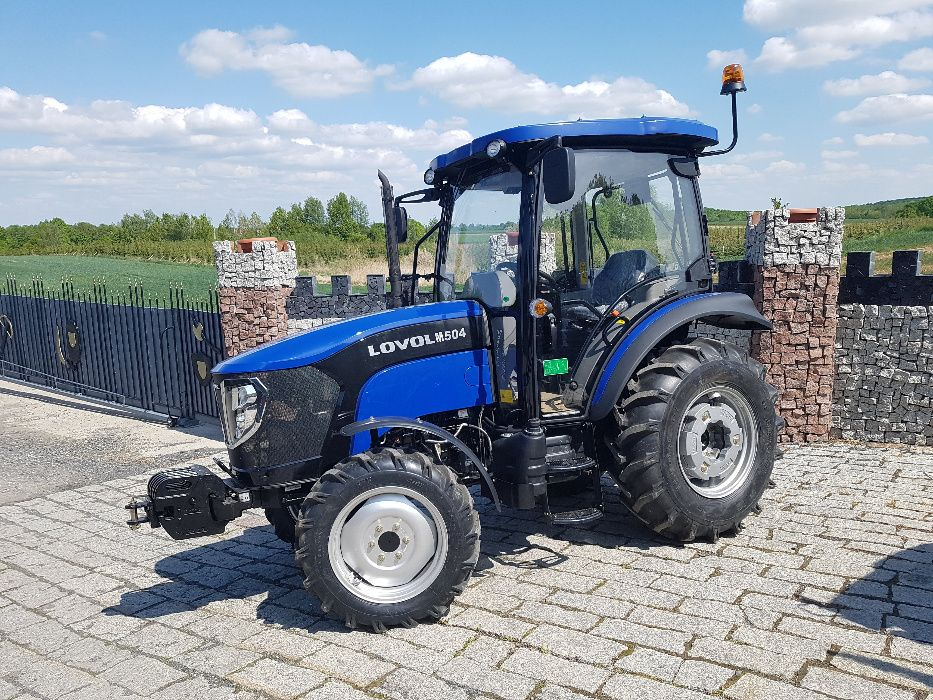 Lovol M504 ciągnik traktor Foton 50KM Klimatyzacja Rewers 4x4 NOWY Lubiatów - image 1