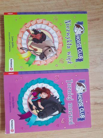 Książki dla dzieci kochających konie -zestaw Schleich