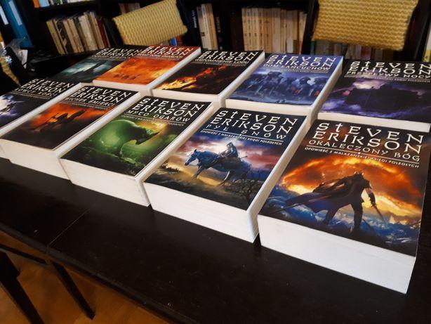 Malazańska Księga Poległych ! Steven Erikson.