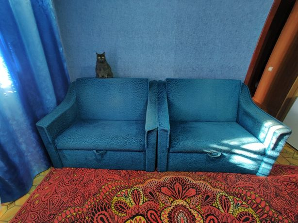 Раскладное кресло-кровать 190x100 (2 шт)