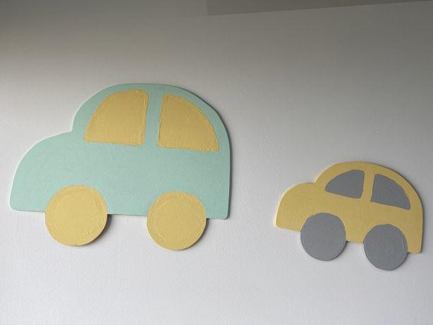 Ozdoba pokoju dziecięcego - samochód, auto