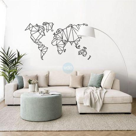 Mapa Mundo - ideal para Casa, Loja ou Escritório!