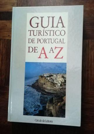 """Livro """"Guia Turístico de Portugal"""""""