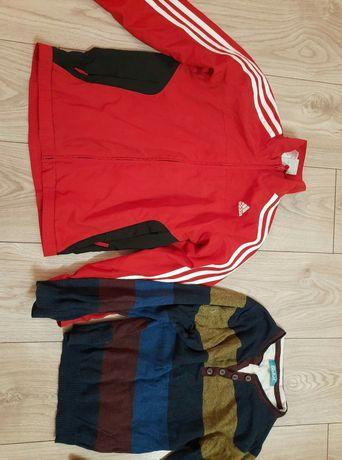 Bluza Adidas i swetr 128