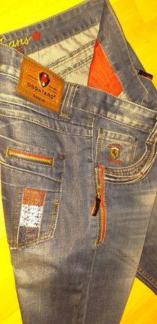 Spodnie jeans męskie roz XL/ XXL , roz. 36 * Desquare 2 , Ferrari Ltd