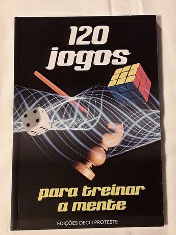 Livro: 120 Jogos para treinar a mente, Deco Proteste