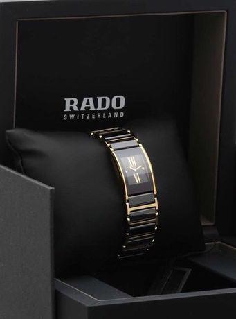 Новые Rado Integral Jubilee Black Dial Ceramic Ladies Watch R20789762