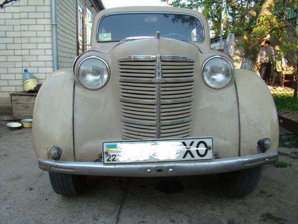 Москвич 401 ретро автомобиль