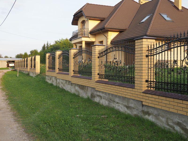 Ogrodzenia klinkierowe, kominy, grile. Białystok - image 1