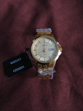 Citizen nowy złoty zegarek z metką
