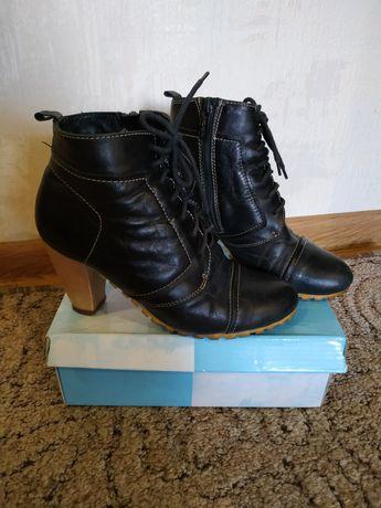 Ботинки демо 36р кожа, ботінки демосезонні, сапоги, туфлі