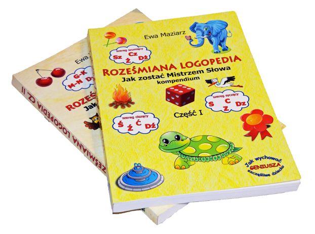 Roześmiana Logopedia tom I lub II skutecznie wyraźna wymowa!