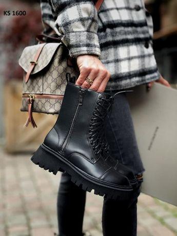 """Зимние ботинки, кроссовки """"Balenciaga"""" / На меху. Кросовки"""