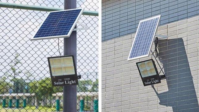 Lampa solarna 100w trzy barwy światła