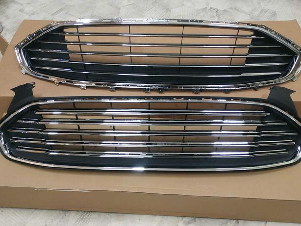 Решетка радиатора Ford Fusion usa капот фюжин