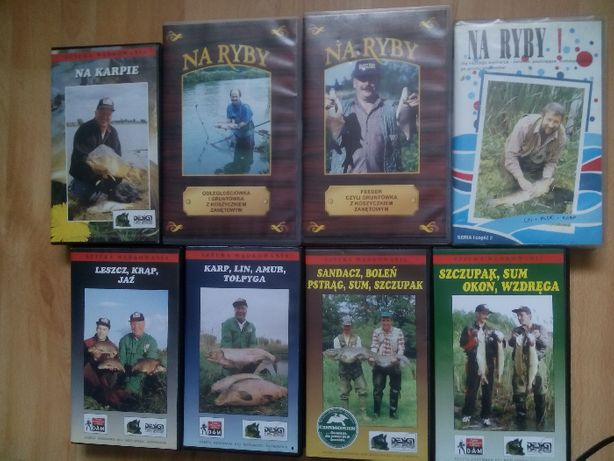 Film Wędkarski VHS - feeder spining grunt karpiowy itp